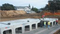 Stormwater-management system is custom-designed