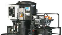 System sanitizes waste stream without chlorine