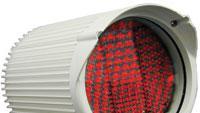 Illuminator provides nighttime surveillance