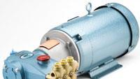 High-pressure plunger pump features space-saving footprint