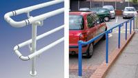 Railing systems feature all galvanized parts