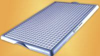Spill tray enables safe handling of chemicals, liquids