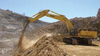 Excavator offers four working modes