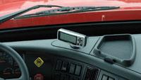 Tire-pressure system monitors 36 tires per truck