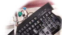 Washable keyboard prevents cross-contamination