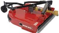 Rugged rotary cutters tackle the toughest grounds maintenance