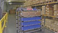 Heavy-duty flow rack offers 1,500-lb. capacity