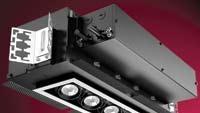 Illumination system accommodates up to three accessories