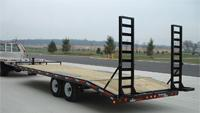 Deck equipment haulers