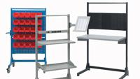 Stationary stands and mobile trolleys