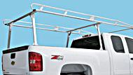 Heavy-duty truck and cap rack