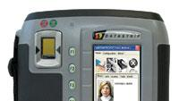 Handheld ID card verification system
