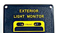 Exterior-light monitor