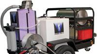 Mobile wash, recovery and recycle system
