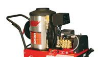 Portable hot-water pressure washer