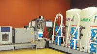 Automated paint-manufacturing system