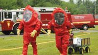 Hazardous materials suits