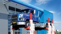 Heavy-duty vehicle lifts