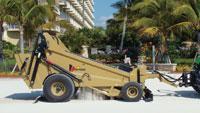 Beach sand cleaner