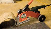 Floor covering remover