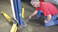 Vehicle lift inspection