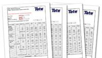 Recycled-content calculation worksheets