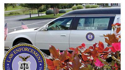 Magnetic law enforcement emblem