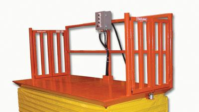 Scissor-lift positioner systems