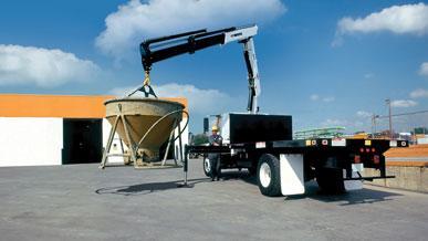 Articulating cranes