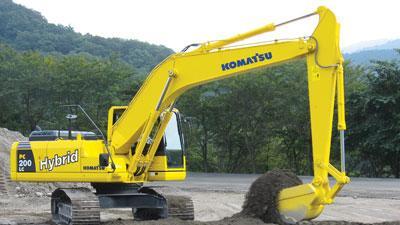 Hybrid excavator