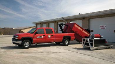 Versatile fire and rescue vehicle