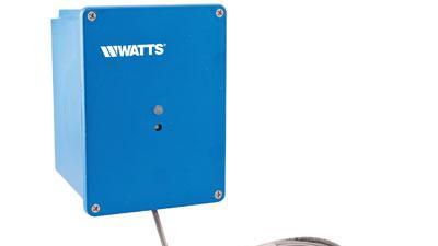 Water detector battery backup