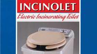 Electric incinerating toilet