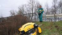 Radio-controlled mower