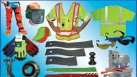 Safety equipment for mowing