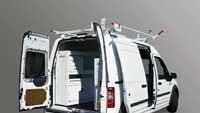 Storage system for vans