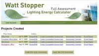 Online energy-savings calculator