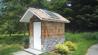 Composting toilet system
