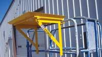 Tray for lift applications