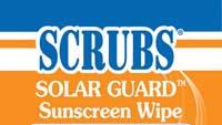 Sunscreen wipes