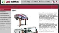 Vehicle lift online training course