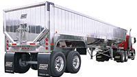 Hybrid dump trailer