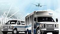Propane shuttle vans