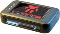 Palm-sized cell phone detector