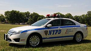 Ford hybrids on patrol with NYPD