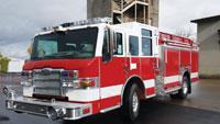 Milestone for fire truck sales