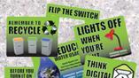 Conservation reminder labels