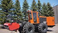 Industrial tractor/mulcher