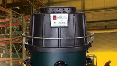 Sturdy industrial vacuum