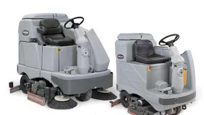 Floor scrubber system